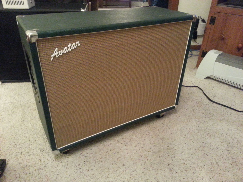 SOLD - Avatar 2x12 British Racing Green - For Sale - Wanted to Buy ...